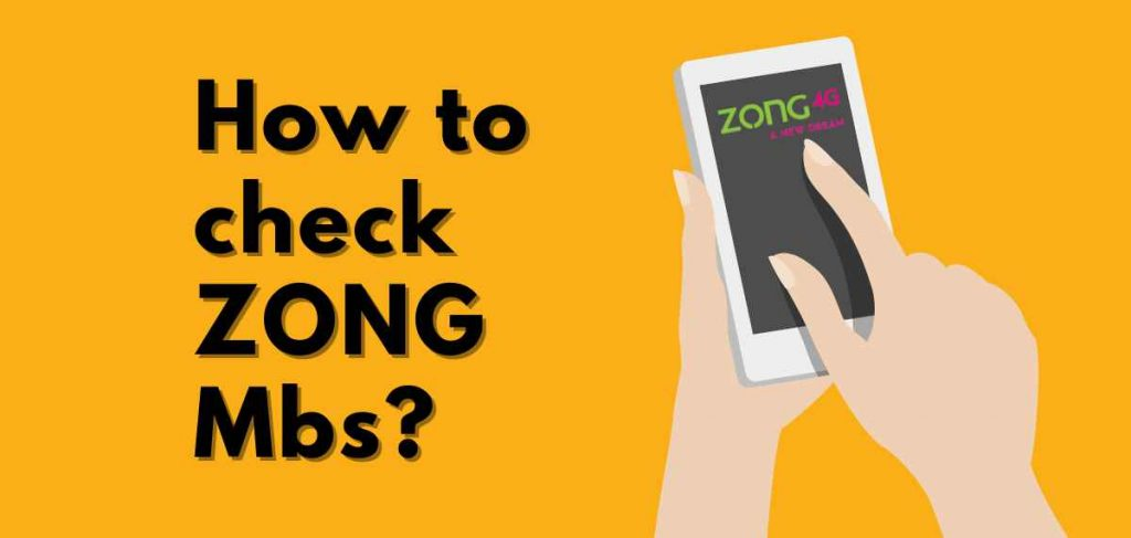 how to check zong mbs
